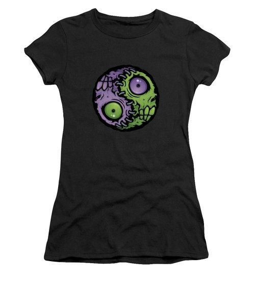 Zombie Yin-yang Women's T-Shirt