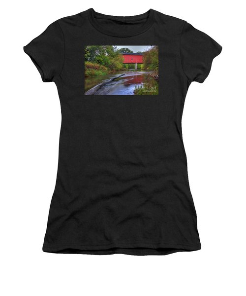 Zumbrota Minnesota Historic Covered Bridge 5 Women's T-Shirt