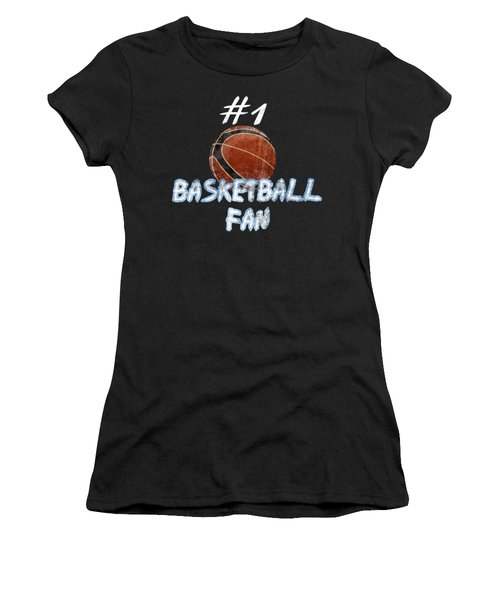 #1 Basketball Fan Women's T-Shirt