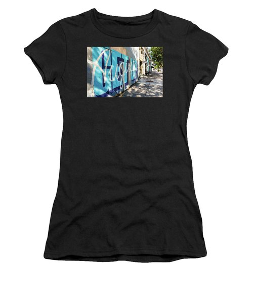 Broad Street Downtown Augusta Ga Women's T-Shirt