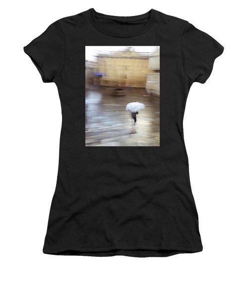 Women's T-Shirt featuring the photograph Gentle Rain by Alex Lapidus