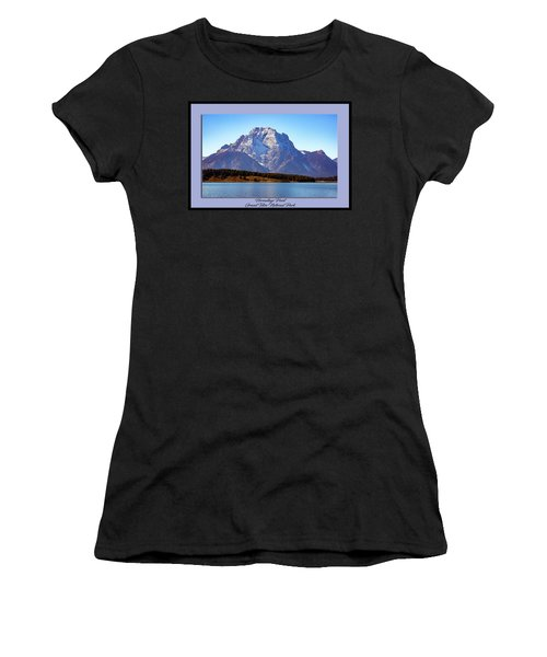 Women's T-Shirt (Athletic Fit) featuring the photograph Hermitage Point by Pete Federico
