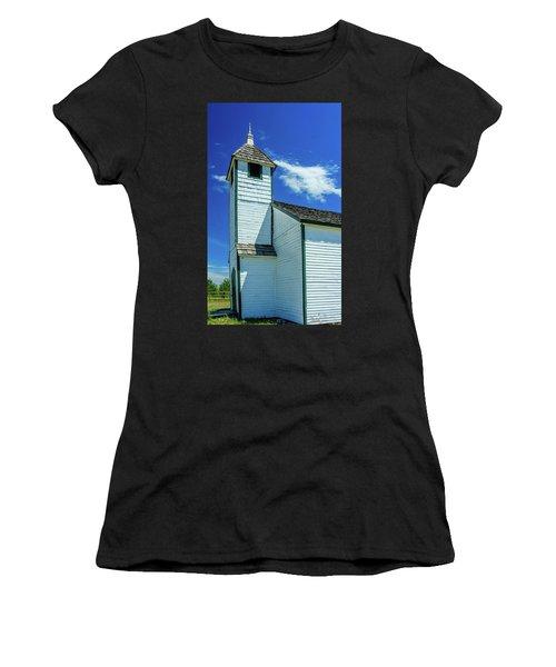 Historic Mcdougall Church, Morley, Alberta, Canada Women's T-Shirt