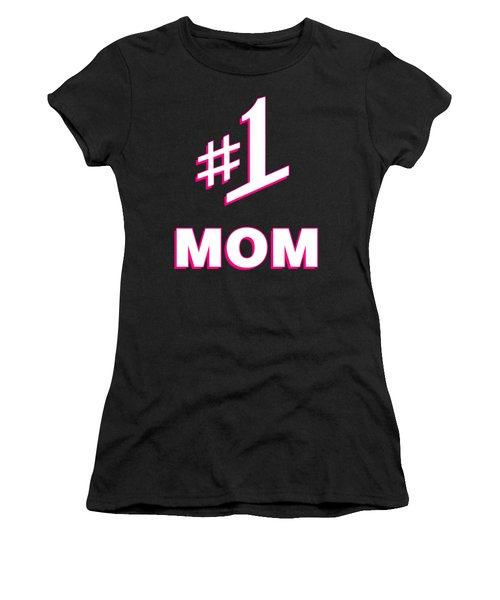 1 Mom Number One Mom Women's T-Shirt