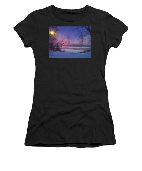 Moonset Women's T-Shirt