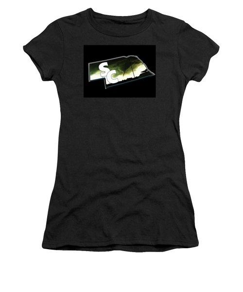 Nebraskasc Logo White Women's T-Shirt