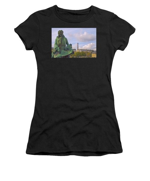 Paris View #4 Women's T-Shirt