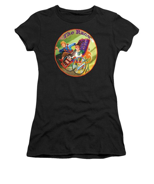The Race Women's T-Shirt (Athletic Fit)