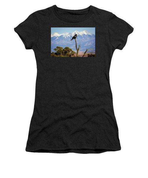 Women's T-Shirt (Athletic Fit) featuring the photograph Winter Is Coming by David Morefield