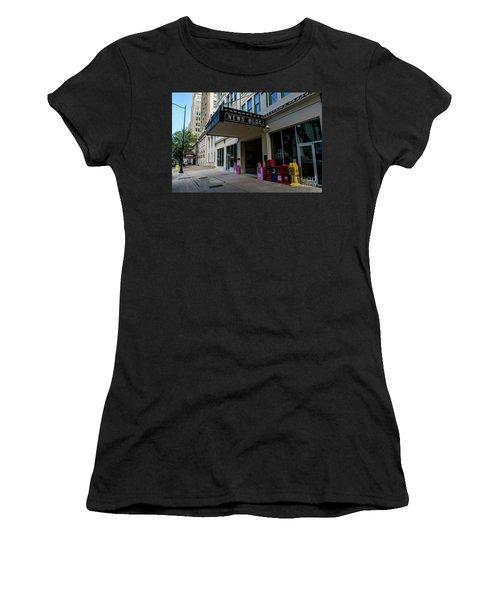 Broad Street Downtown Augusta Ga Women's T-Shirt