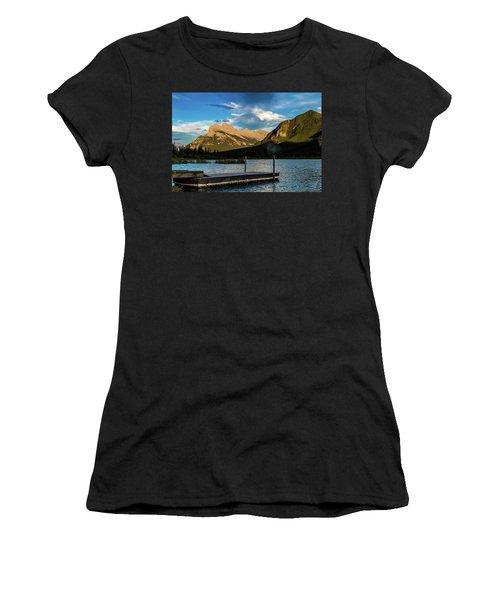 Vermillion Lakes, Banff National Park, Alberta, Canada Women's T-Shirt