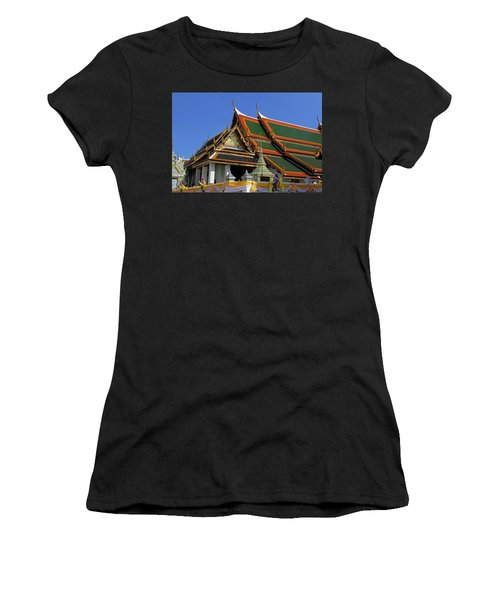 Bangkok, Thailand - Wat Phra Kaew - Temple Of The Emerald Buddha Women's T-Shirt