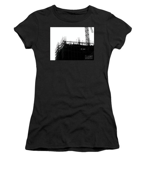 Large Scale Construction In Outline Women's T-Shirt