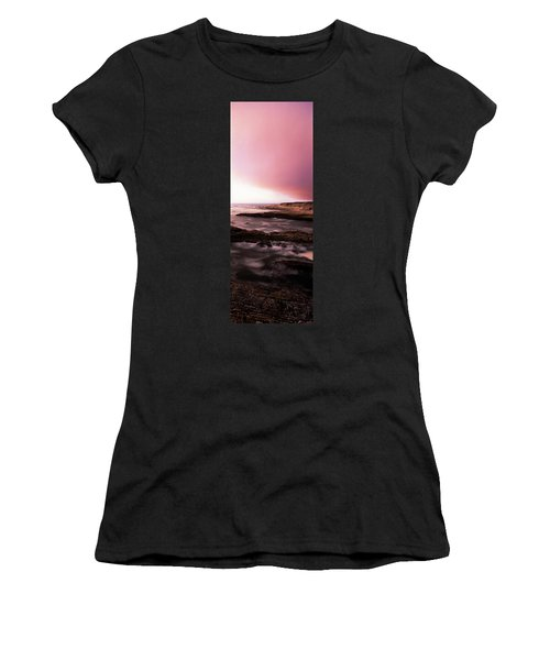 High Angle View Of Rock Formations Women's T-Shirt
