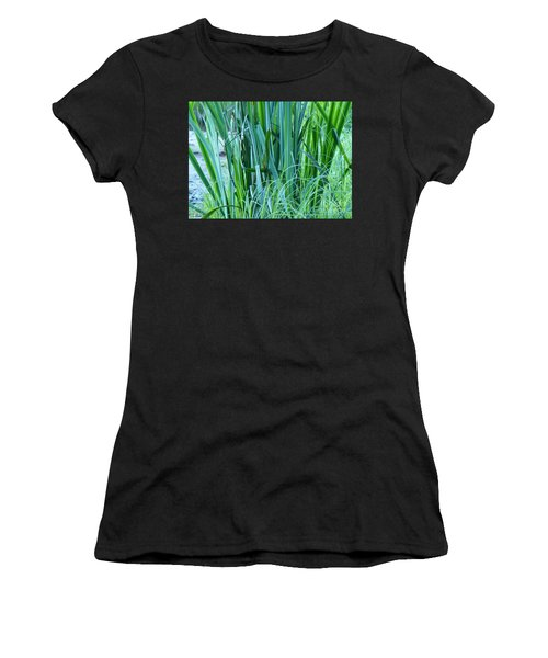 Women's T-Shirt featuring the photograph A Shock Of Green by Rosanne Licciardi