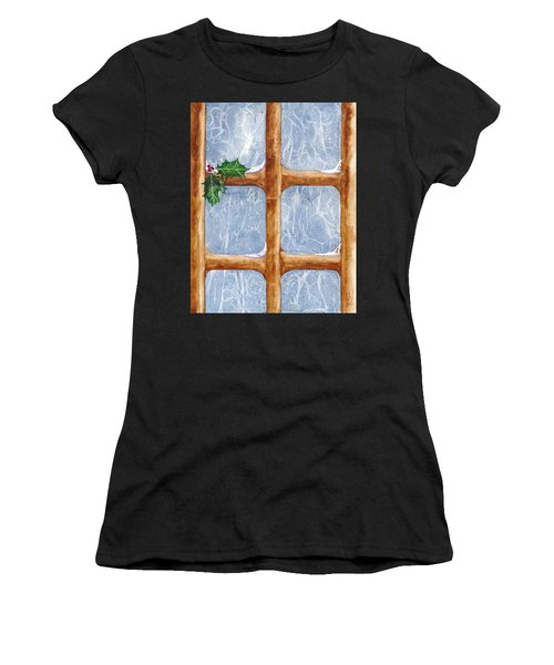 A Visit From Jack Frost Women's T-Shirt