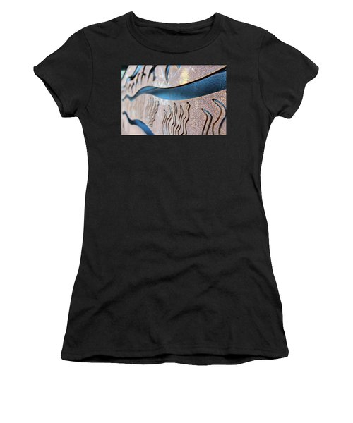 Abstract Lake Patricia Sign 1 Women's T-Shirt