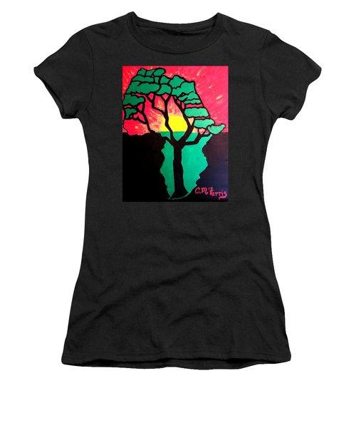 African Sunset  Women's T-Shirt
