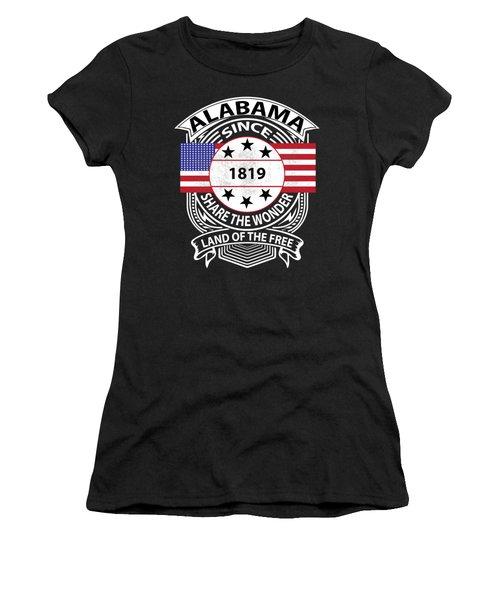 Alabama Grunge Women's T-Shirt