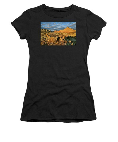 Amazing Clouds Over Ruby Mountain And Colorado National Monument Women's T-Shirt