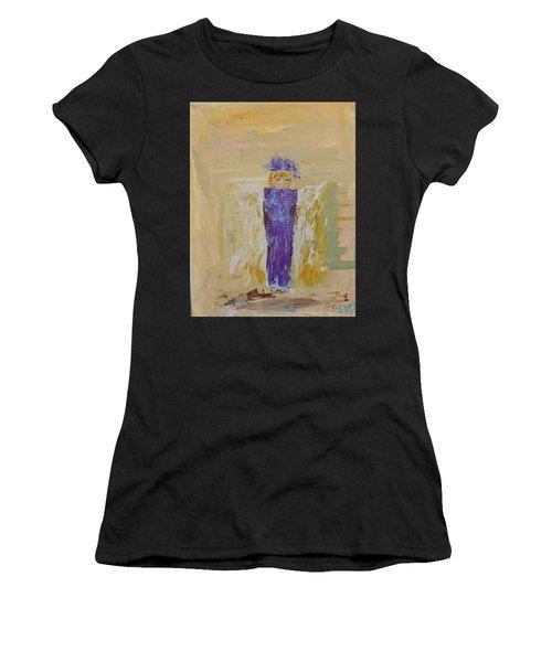 Angel Girl With A Unicorn Women's T-Shirt