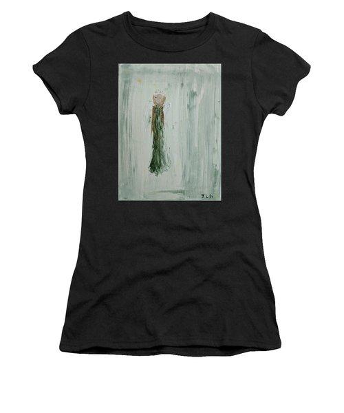 Angel In Green Women's T-Shirt