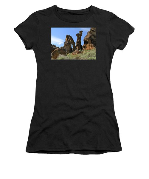 Arches Hoodoos Castles Women's T-Shirt