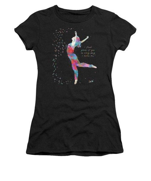 Beloved Deanna On Dark Women's T-Shirt