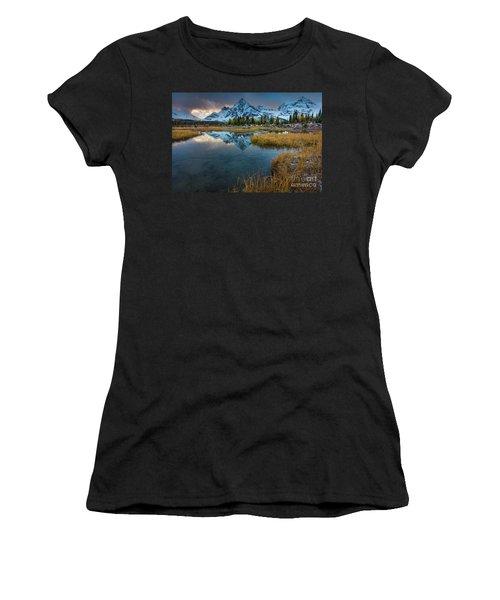 Assiniborne Tarn At Twilight Women's T-Shirt