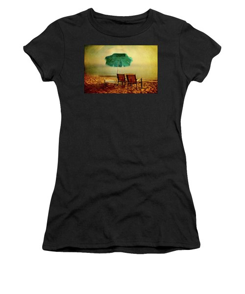 Women's T-Shirt featuring the photograph At The End Of The Day by Milena Ilieva