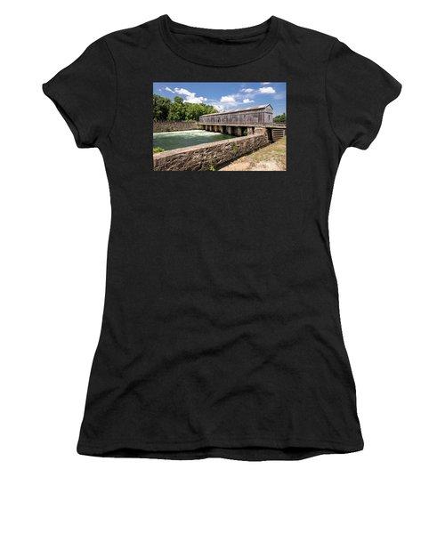 Augusta Canal Headgates - Augusta Ga Women's T-Shirt (Athletic Fit)