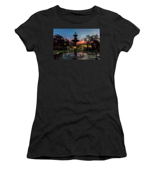 Augusta University Fountain Sunset Ga Women's T-Shirt