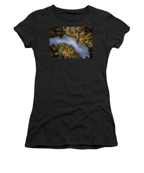 Autumn Arrives At The River Women's T-Shirt