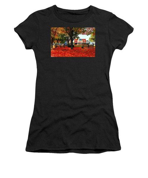 Autumn Main Street Women's T-Shirt