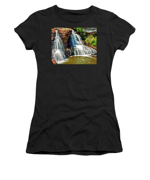 Balckwater Falls - Closeup Women's T-Shirt