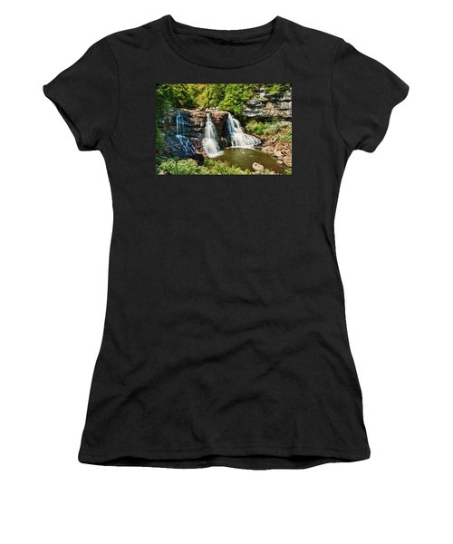 Balckwater Falls - Wide View Women's T-Shirt