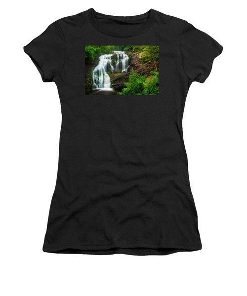 Bald River Falls Women's T-Shirt (Athletic Fit)