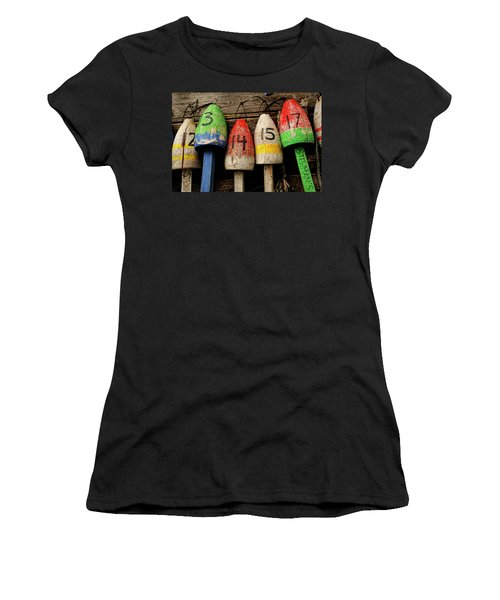 Bar Harbor Bouys Women's T-Shirt