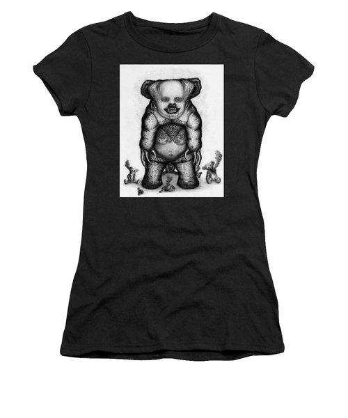Benjamin The Nightmare Bear Artwork Women's T-Shirt