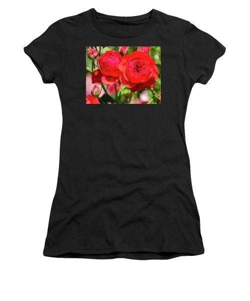 Best Buds In Red Women's T-Shirt
