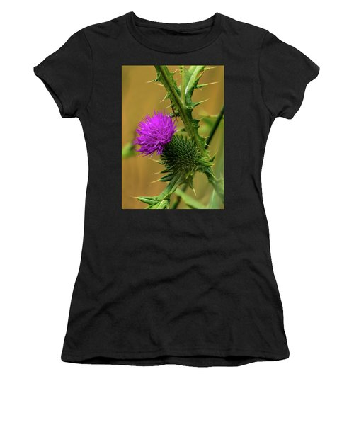 Between The Flower And The Thorn Women's T-Shirt
