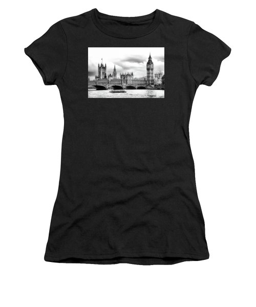 Big Clock In London Soft Women's T-Shirt
