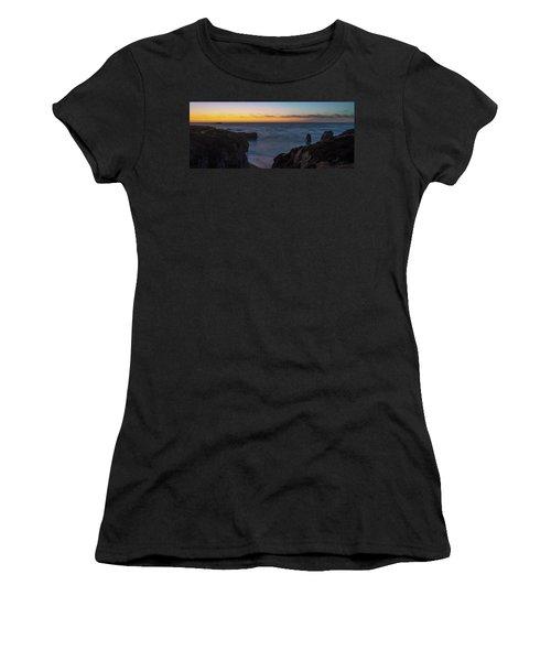 Big Sur California Sunset Women's T-Shirt