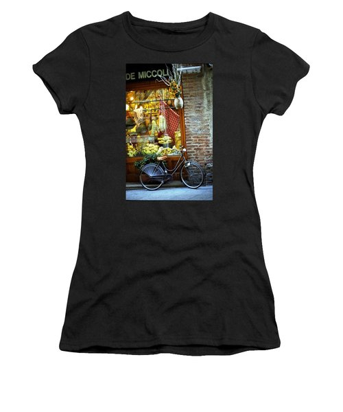 Bike In Sienna Women's T-Shirt
