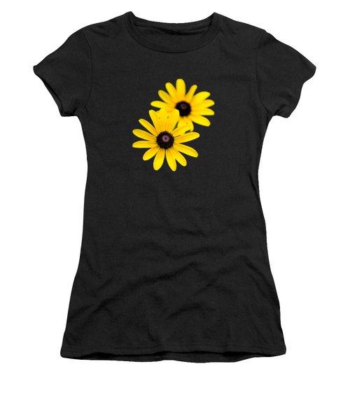 Black Eyed Susans Women's T-Shirt (Athletic Fit)