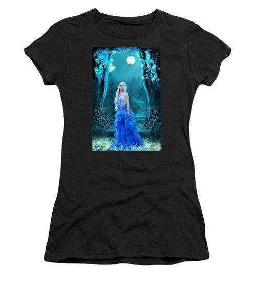 Blue Dress Women's T-Shirt