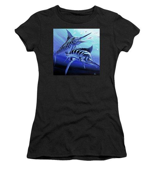 Blue Marlins Women's T-Shirt