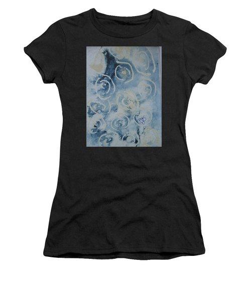 Blue Spirals Women's T-Shirt