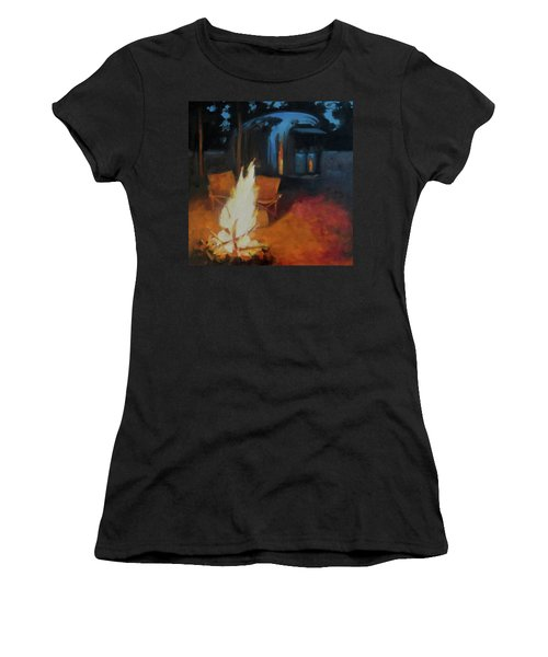 Boondocking At The Grand Canyon Women's T-Shirt
