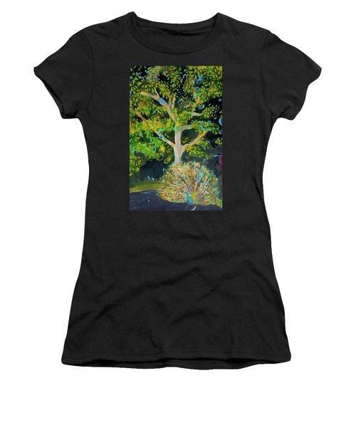 Branching Out Peacock Women's T-Shirt
